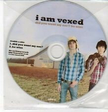 (DD456) I Am Vexed, Did You Want My Axe? / Be Wise - 2009 DJ CD