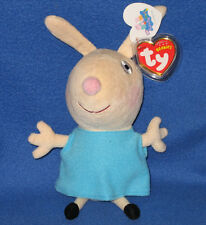 TY REBECCA RABBIT (UK EXCLUSIVE - PEPPA PIG) - MINT with MINT TAGS