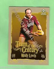 WALLY LEWIS, QUEENSLAND STATE OF ORIGIN  2008 RUGBY LEAGUE PROMOTIONAL CARD