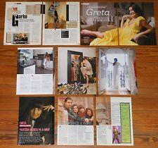 GRETA Y LOS GARBO coleccion prensa 1990s/00s fotos revista pop español clippings