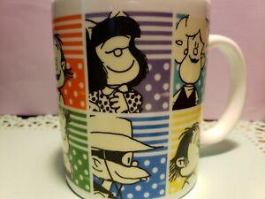 COFFEE MUG Mafalda CUP 2016 Joaquin Salvador Lavado . White 11oz