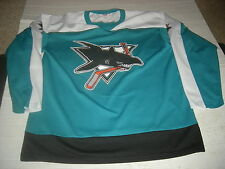 San Jose Sharks Old-Style TEAL Jersey,GR8 LOOKING GIFT,CUSTOMIZE NAME/NUMBER $32