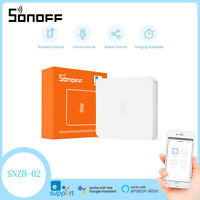 SONOFF SNZB-02 Zigbee Temperature and Humidity Sensor Smart Home Remotel Monitor