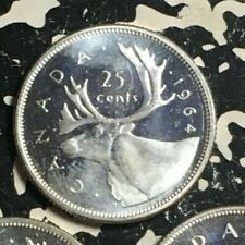 1964 Canada 25 Cents (3 Available) High Grade! (1 Coin Only) Silver!