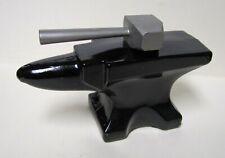 Vintage 1972 Avon Blacksmiths Anvil & Hammer 4oz Decanter Deep Woods After Shave