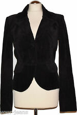Hallhuber Blazer Tg. 36 Marrone blazer da donna Kord