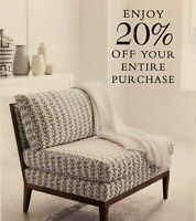 Serena & Lily 20% Off Coupon Code Exp 9/23/20