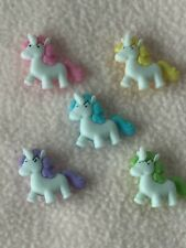 DRESS IT UP BUTTONS ~ BABY UNICORNS ~ MAGICAL ~ CRAFTS/CARD MAKING