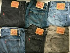 MEN`S LEVI`S 514 STRAIGHT LEG JEANS GRADE A AUTHENTIC VINTAGE DENIM