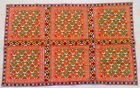 """56"""" x 36"""" New Rabari Throw Embroidery Ethnic Tapestry Tribal Wall Hanging"""