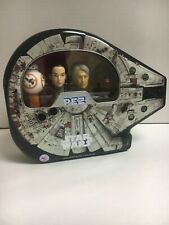 New Star Wars PEZ Millennium Falcon Collector Tin with BB-8, Rey, Solo & Chewy