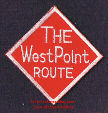 LMH Patch  WEST POINT ROUTE Railroad  A&WP Atlanta  WofA WESTERN RAILWAY ALABAMA