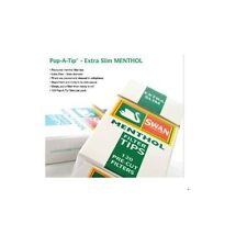 SWAN menthol EXTRA SLIM FILTER TIPS 5X120= 600 Menthol FILTERS
