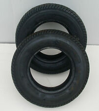 145/80 B10 TRAILER TYRES 4 PLY NEW ITEM FREE DELIVERY X 2