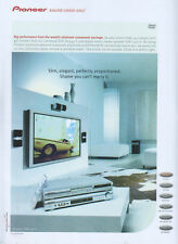 Pioneer DVD DV-444-S & VSX-C300-S 2001 Magazine Advert #2629