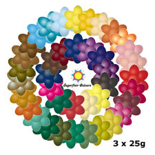 3 x 25g Sugarflair Concentrated Edible Paste Gel Food Colouring for Cake Icing