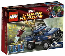 LEGO MARVE SUPER HEROES LOKIS COSMIC CUBE 6867