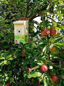 Wifi Camera Bird box, Nesting Box,  The Full Kit with Camera, Lead and  Adapter.