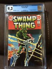 Swamp Thing #3  CGC 9.2   White pages 1st Patchwork Man and Abigail Arcane