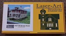 HO Laser-Art # 627 Beverly House 2 Family NIB KIT