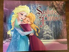 Artissimo Disney Frozen Licensed Wall Art Canvas Sisters Forever 19.5X15.5