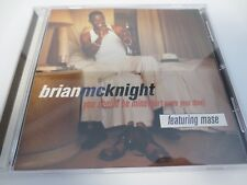 BRIAN MCKNIGHT ~ YOU SHOULD BE MINE (DON'T WASTE YOUR TIME) 1997 SINGLE SONG CD