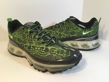 Nike Air Max 360 Rejuvenation Black Green Silver Mens Size 12 Rare 313520-031