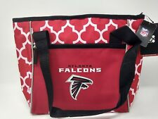 Atlanta Falcons NFL Team Logo Soft 16 Can Cooler Lunch Tote Bag with Handles