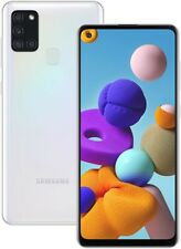NEW SAMSUNG GALAXY A21s SM-A217F/DS DS Factory Unlocked Dual Sim 32GB WHITE