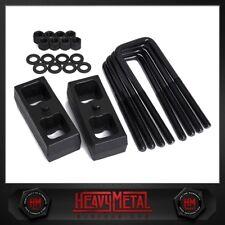 """2"""" Rear Steel Lift Kit 1994-2002 Dodge Ram 2500 / 3500 2WD Blocks + U-Bolts"""