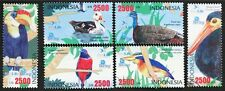 E001A INDONESIA 2009 Birds, etc complete set of 6 stamps Mint NH