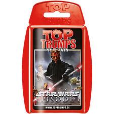 Top TRUMPS Quartettspiel Star Wars Episode I