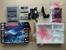 Super Nintendo SNES Konsole - OVP / CIB - TOP Zustand mit Super Mario World