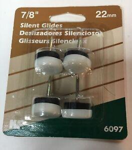 "Waxman Consumer Group Nail-On Furniture Glides (4) 7/8"""