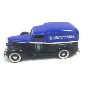 Cornwell Quality Tools Blue Black Model Bank with Key 1936 Dodge Limited Edition