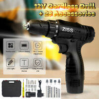 32 in 1 Rechargeable Wireless Cordless Electric Screwdriver Drill Set Power Tool