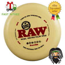 RAW 2 in 1 Frisbee & Rolling Tray - Smoking Papers Brand Toy Merchandise