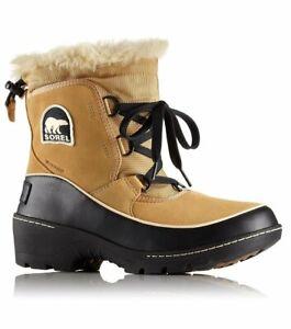 Sorel Tivoli III Womens Winter Boot Curry Black