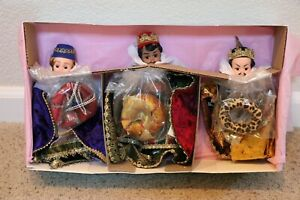 1997 Madame Alexander THE THREE WISE MEN SET (3 Dolls), Nativity Collection-NEW