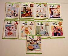 Disney Home Winnie the Pooh Friends Craft Books Leisure Arts Collection 9 Lot