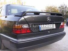 Para Mercedes Benz E w124 posterior Tronco Alerón Labio ALA PUERTA TRASERA ARRANQUE Sport 124