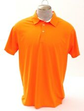 Puma Golf Tech Orange Moisture Wicking Short Sleeve Polo Shirt Men's XL NWT