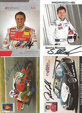 4 Autogramme LOT Motorsport Christian Abt Sascha Maassen Roland Asch .....  xyz