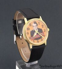 Vintage 1980's wind-up Edward G. Robinson Character Watch