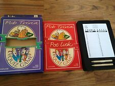 Vintage pub Trivia Pot Luck Quiz de pub tradicional concursos por Paul Lamond Juegos