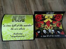 """Incubus A Crow Left Of The Murder 12""""X12""""  Promo Poster Flat"""