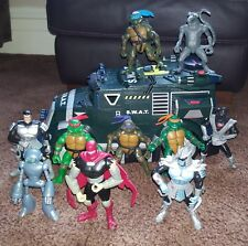 Teenage Mutant Ninja Turtles Action Figures, Shell Raiser Playmates 2002 - 2004