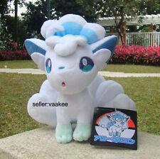 "Large Alola Vulpix 10.5"" Pokemon Center Go Sun Moon Plush Toy Soft Doll Nintendo"