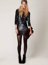 New Free People Iro Blackheart Sequin Dress Size 0 (XS) US $650
