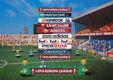 10 x Europa League Stile Autoadesivo messaggi pubblicitari di C.108 SUBBUTEO SCHERMA